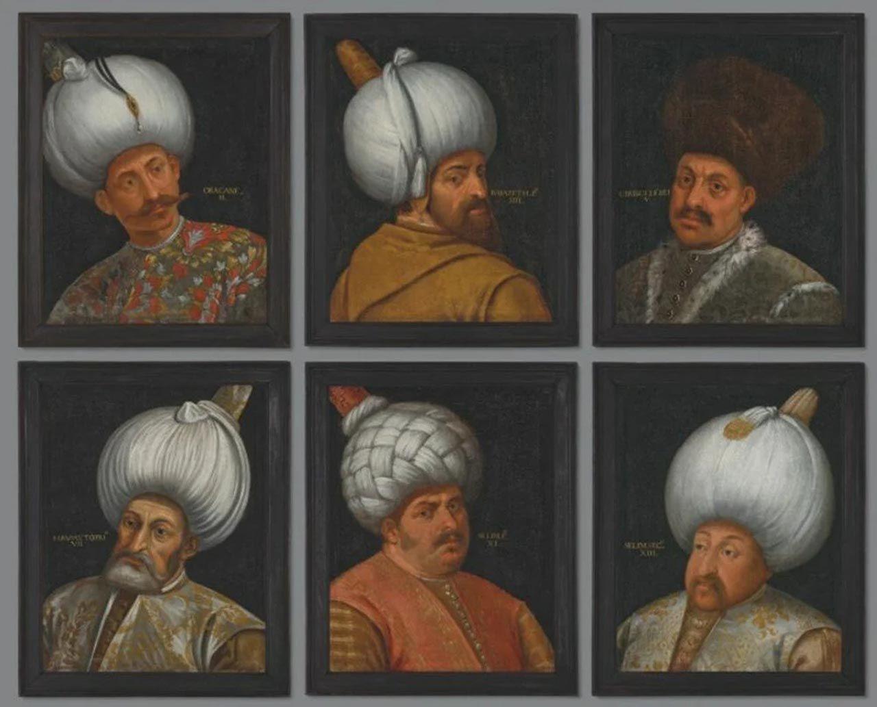 Osmanlı padişahlarının portreleri açık artırmayla satılacak - Resim: 1
