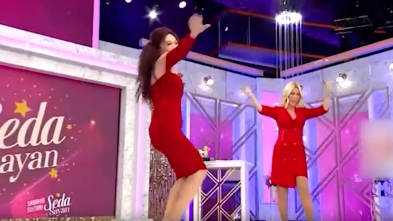 Seda Sayan'ın programına kadın doktorun bu dansı damga vurdu