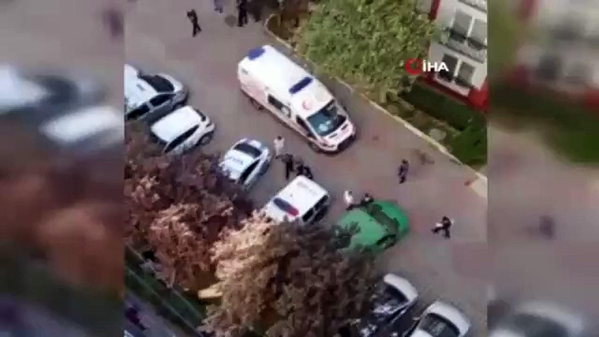 İstanbul'da dehşet anları: ''Karımı öldürdüm polisi arayın''