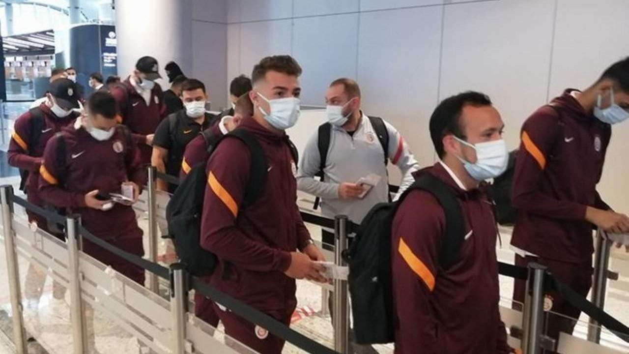 Galatasaray'ın Marsilya maçı kamp kadrosu açıklandı