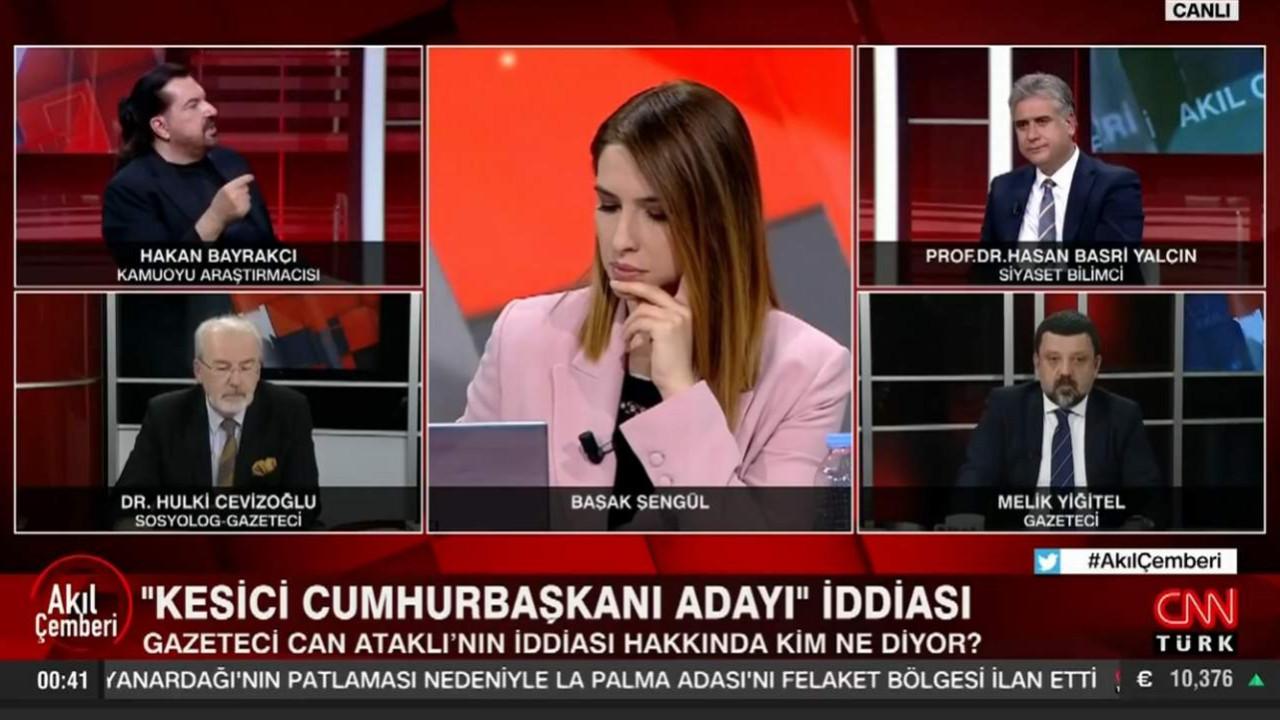 Ünlü anketçi Hakan Bayrakçı ''muhalefet için en uygun adayı'' açıkladı
