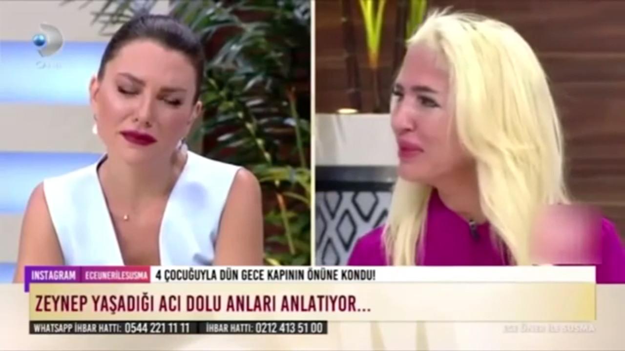 Ece Üner'in canlı yayındaki bu tavırları sosyal medyada fena ''ti''ye alındı
