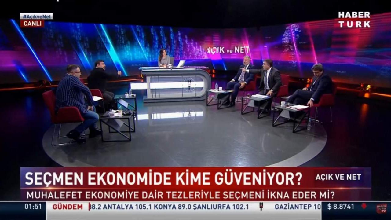 Yaşar Hacısalihoğlu ile Ersan Şen canlı yayında birbirine girdi