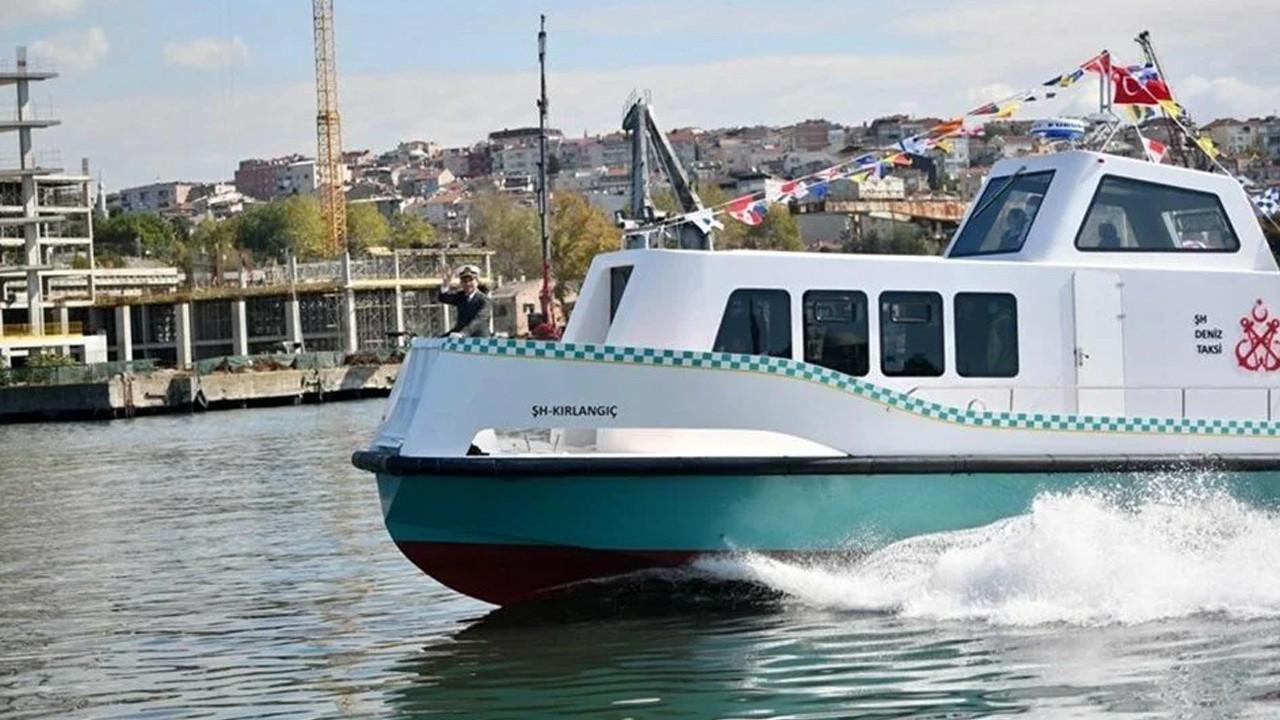 İstanbul'da deniz taksi ücretleri belli oldu