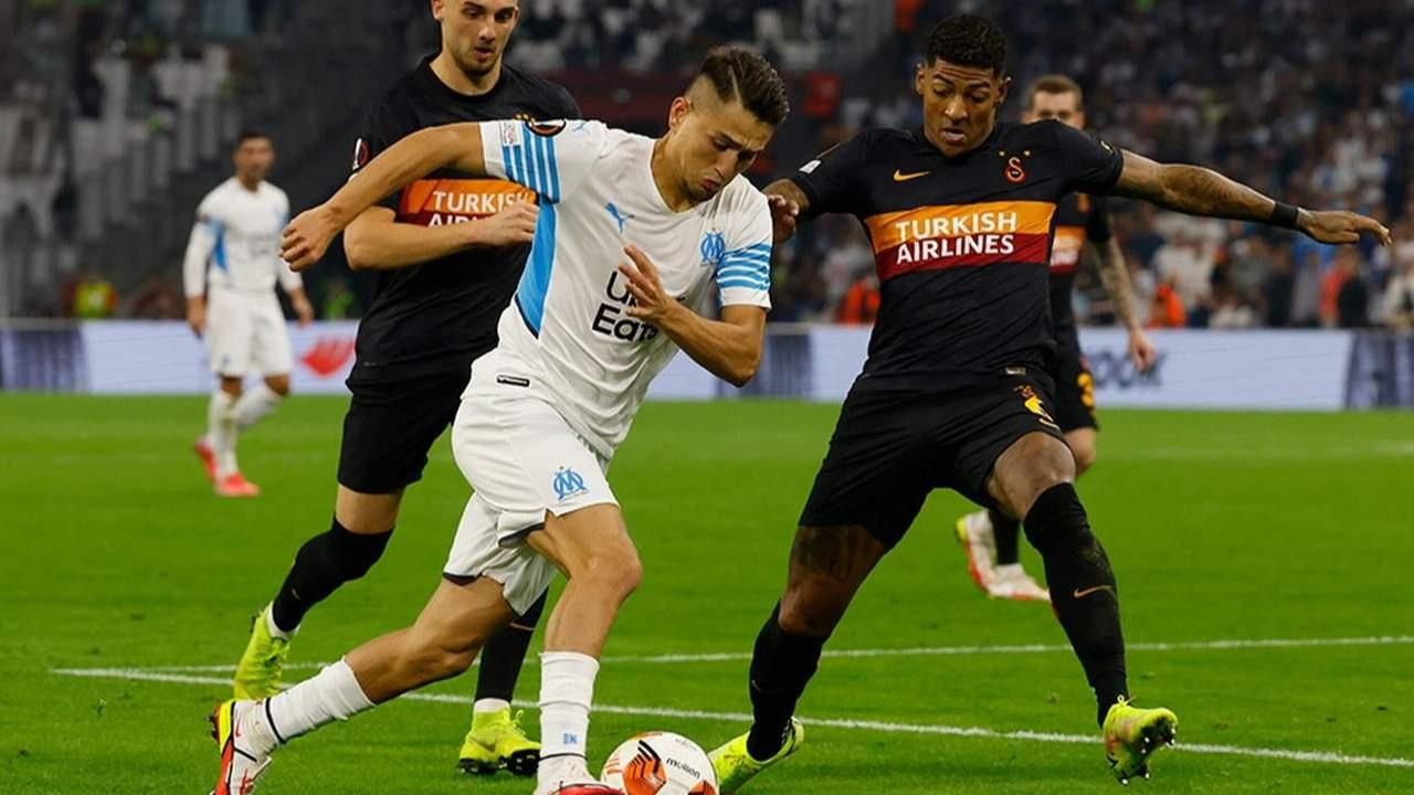 Galatasaray, Marsilya'dan 1 puanla lider döndü