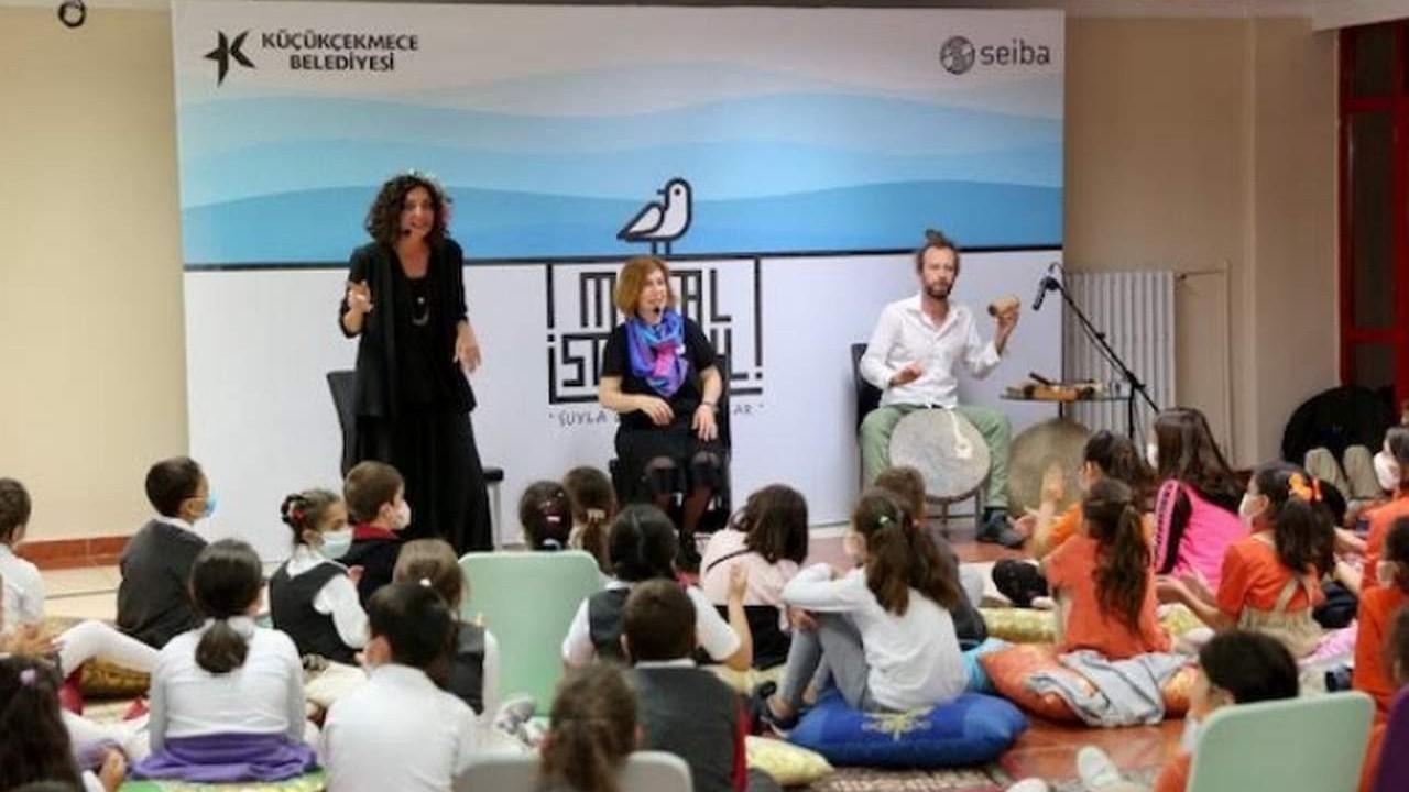 Küçükçekmece'de İstanbul'a masallar anlatan festival devam ediyor