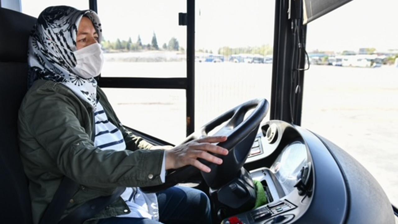 Ankara Büyükşehir'de kadın istihdamı artıyor: Toplu taşımada kadın eli