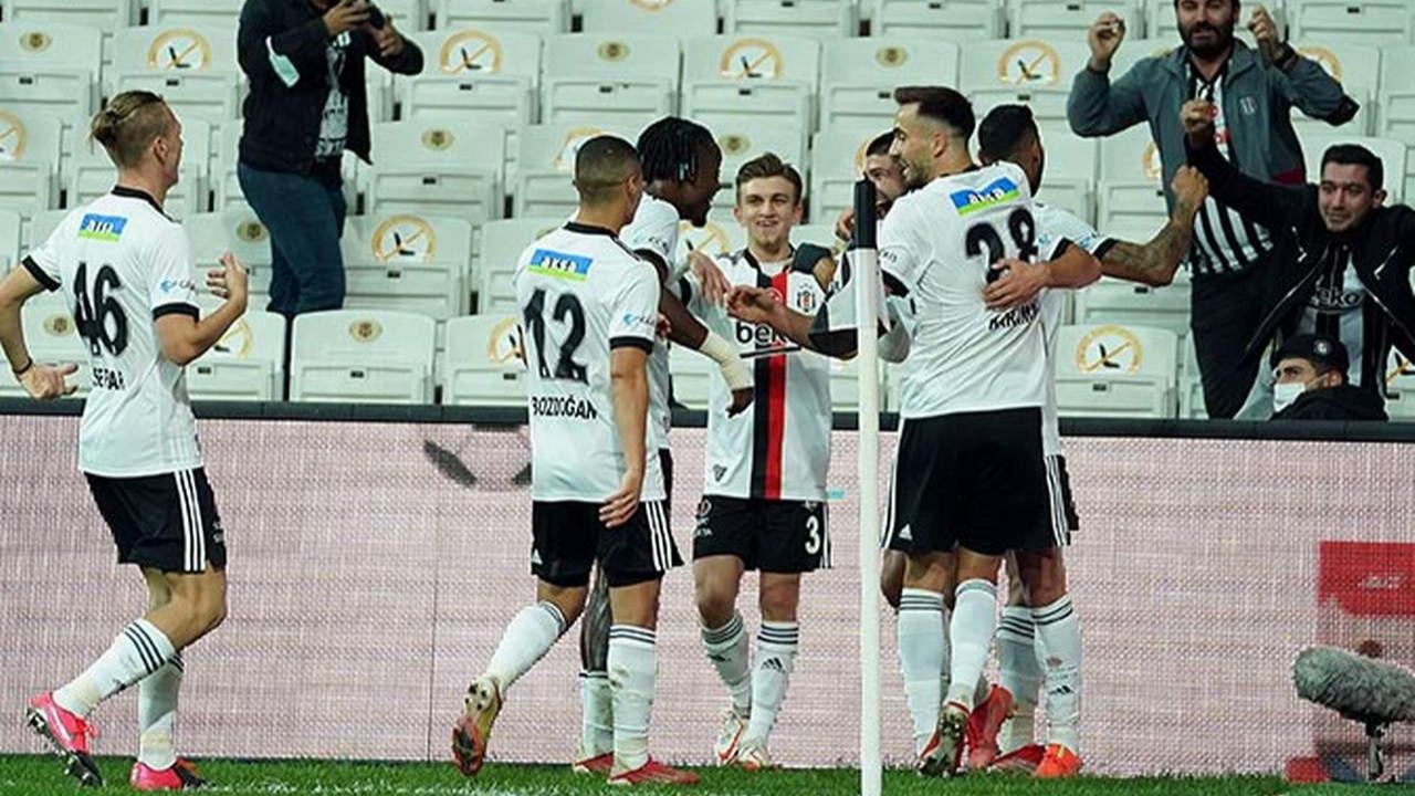 Beşiktaş, Sivasspor'u Güven Yalçın ile geçti