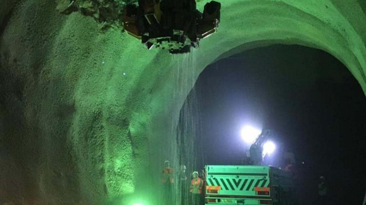 Türkiye'nin dev tünelinde sona gelindi