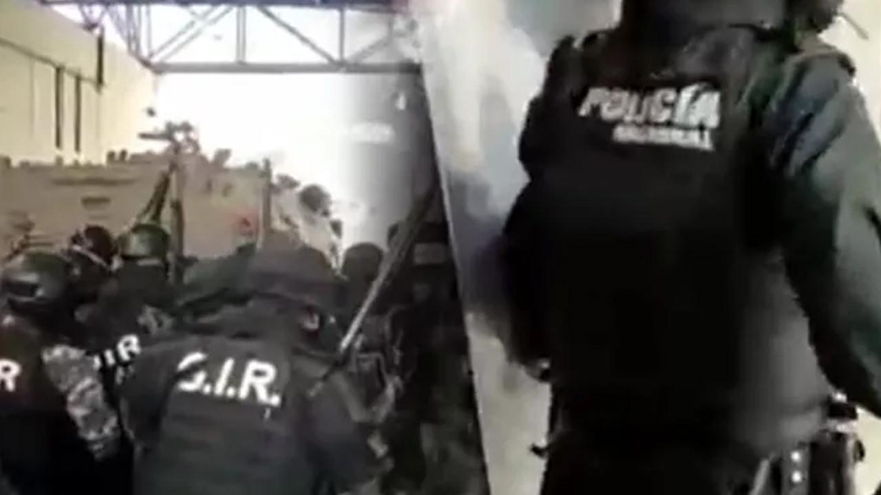 Ekvador'daki cezaevinde operasyon esnasında çatışma çıktı