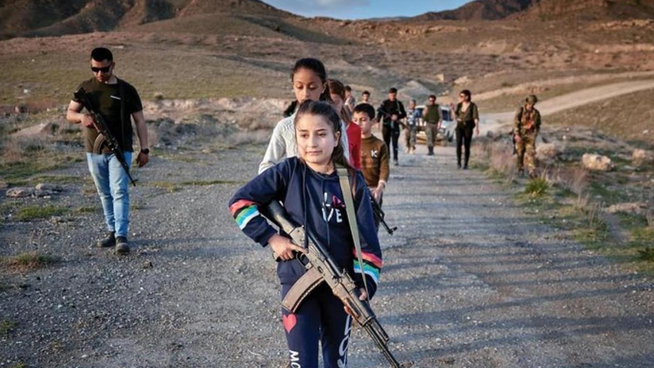 ABD'li eski askerlerden Ermeni çocuklara silahlı eğitim