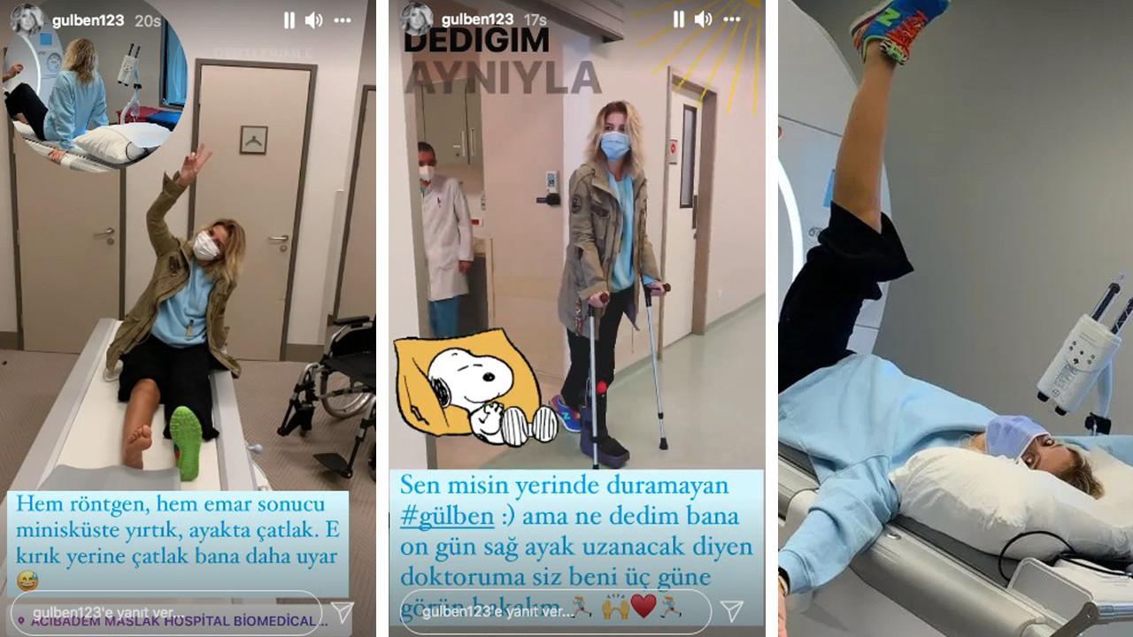 Gülben Ergen apar topar hastaneye kaldırıldı