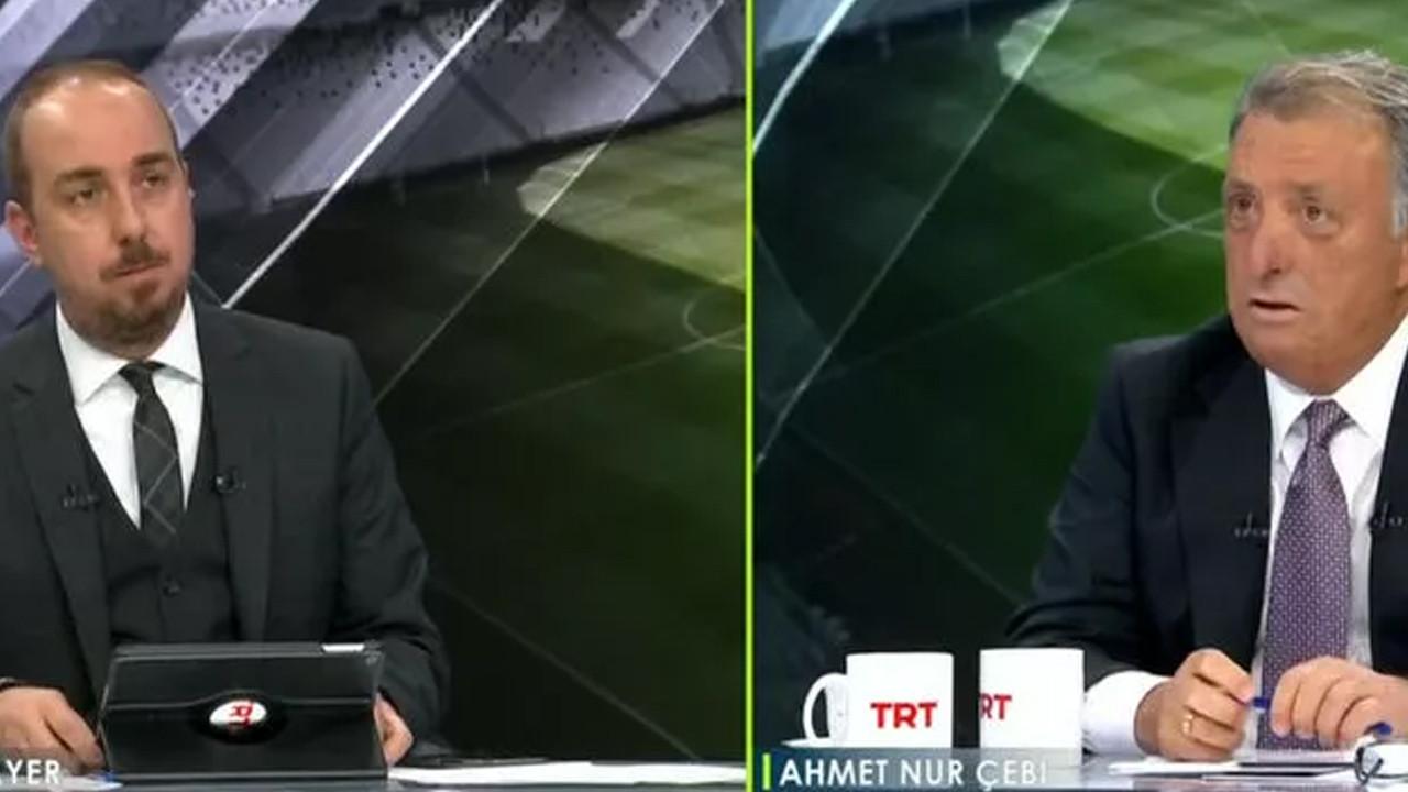 Beşiktaş Başkanı Ahmet Nur Çebi'den olay yaratan itiraf