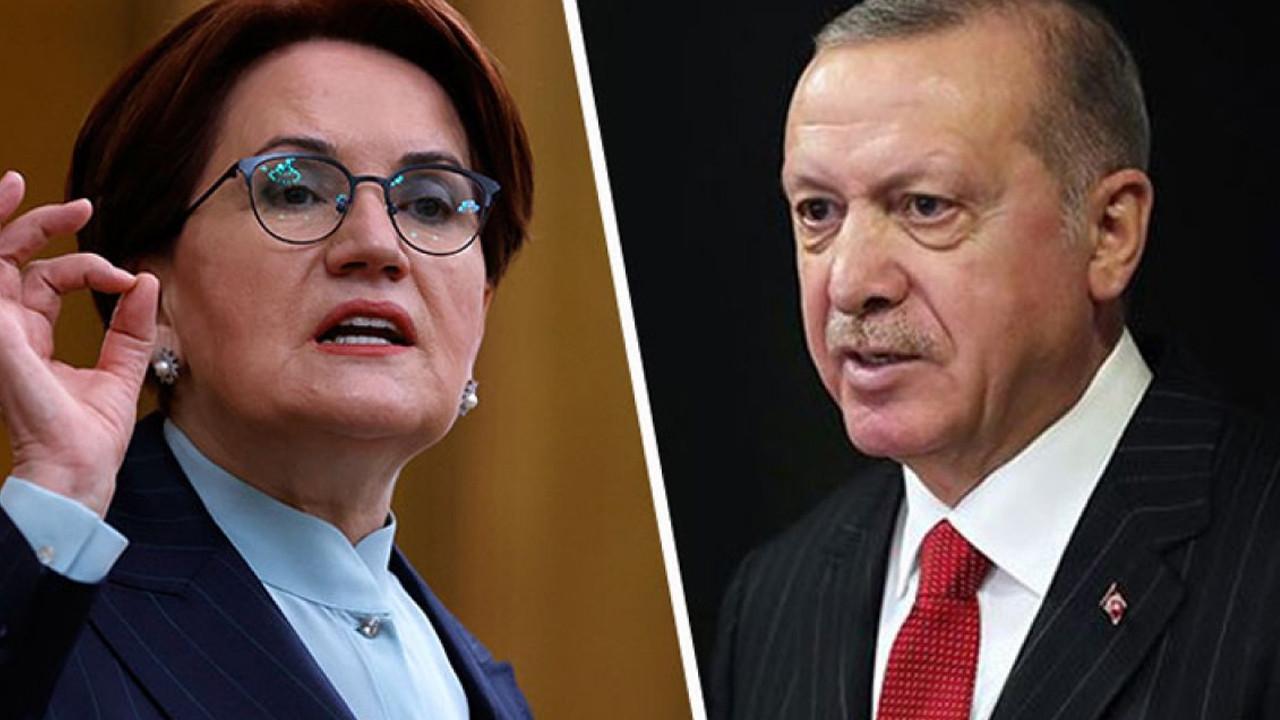 Akşener'den Erdoğan'a yanıt: Çıkıp böyle abuk sabuk konuşuyorsun, sonra da alınıyorsun