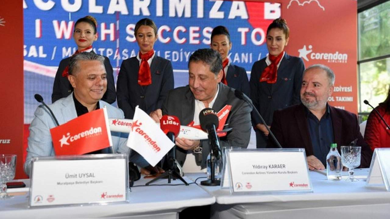 Muratpaşa Belediyespor kadın voleybol takımının yeni sponsoru açıklandı