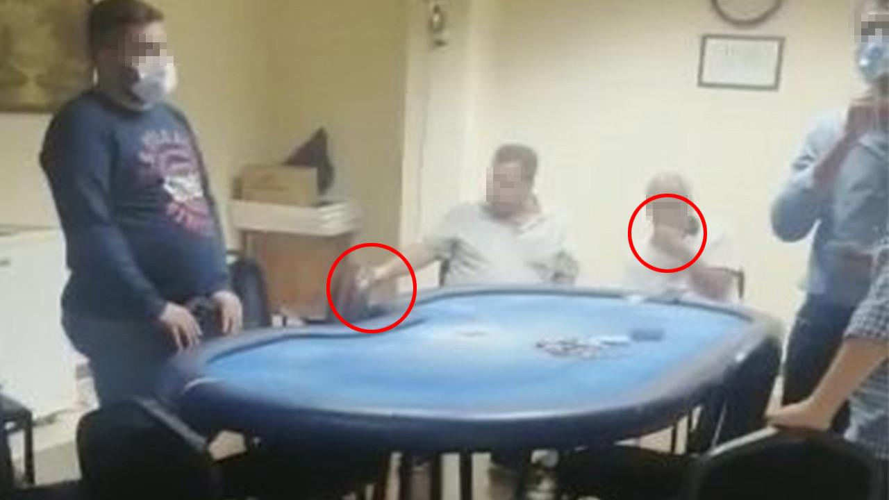 Kumar oynarken polise yakalanınca...