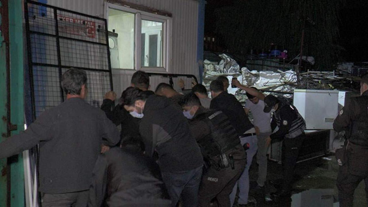 İstanbul'da kağıt toplayıcıları gözaltında