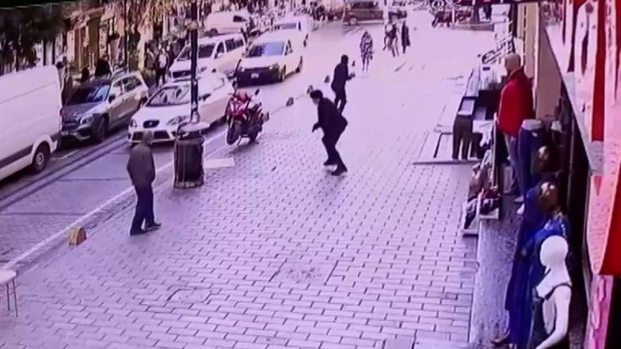 İstanbul'da 3 milyon dolarlık gasp girişimi kamerada