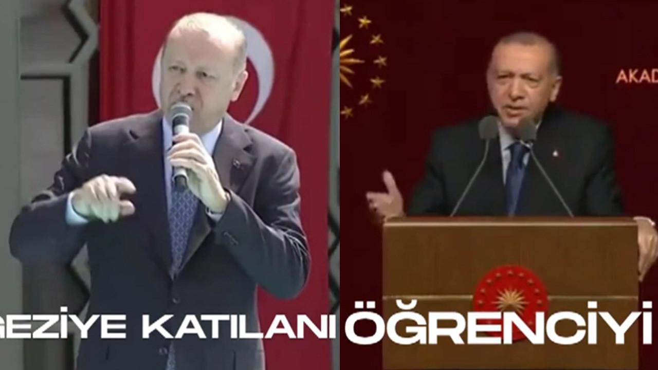CHP'li Özkan, Erdoğan'ı kendi sözleriyle eleştirdi