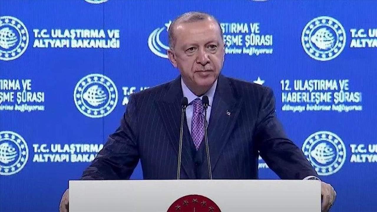 Erdoğan'dan Kanal İstanbul için yeni açıklama