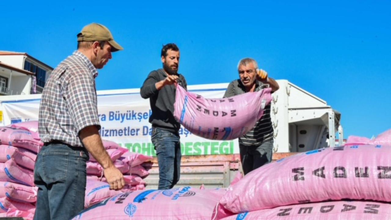 Mansur Yavaş'tan çiftçiye müjde: Türkiye'nin bu yılki en büyük tohum desteği başladı