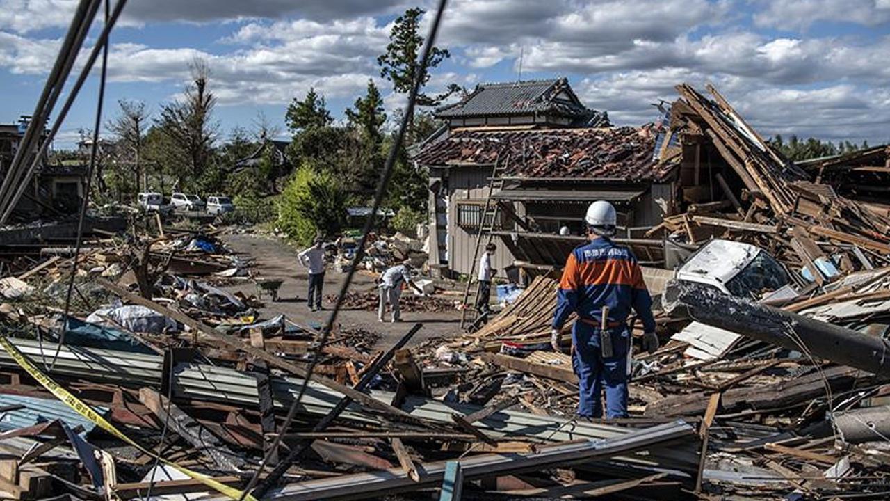 Japonya'daki depremde yaralı sayısı yükseldi