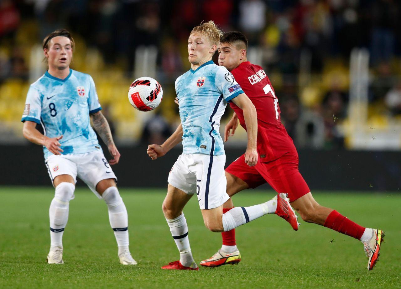 A Milli Futbol Takımı, Norveç ile berabere kaldı - Resim: 3