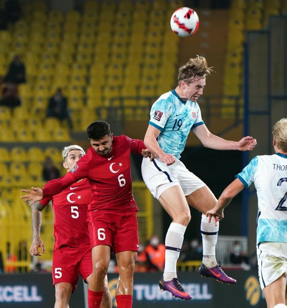 A Milli Futbol Takımı, Norveç ile berabere kaldı - Resim: 4