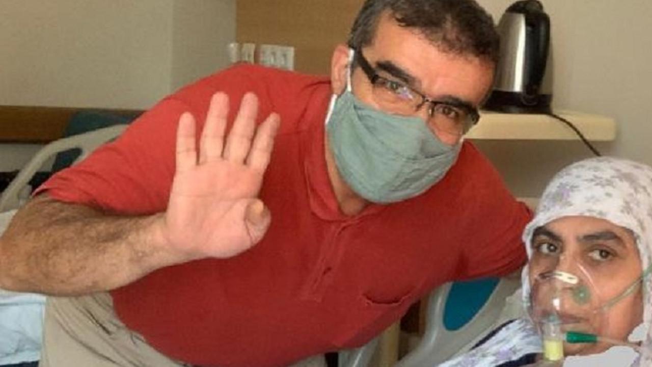 56 yaşındaki koronavirüs hastası: Artık 8 doz aşı olacaksın deseler olurum