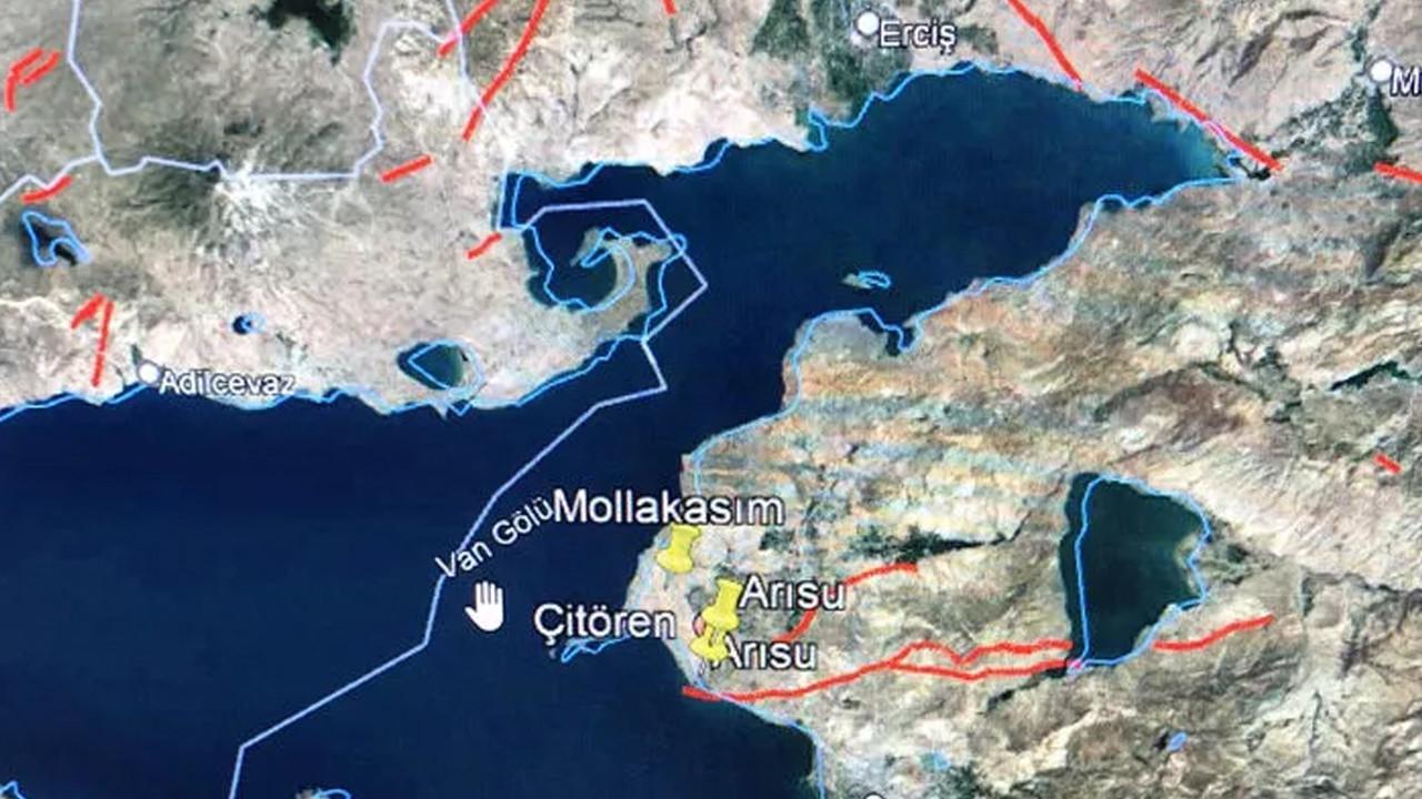 Deprem uzmanı Naci Görür haritayla uyardı: ''Burası yavaş yavaş yükseliyor''