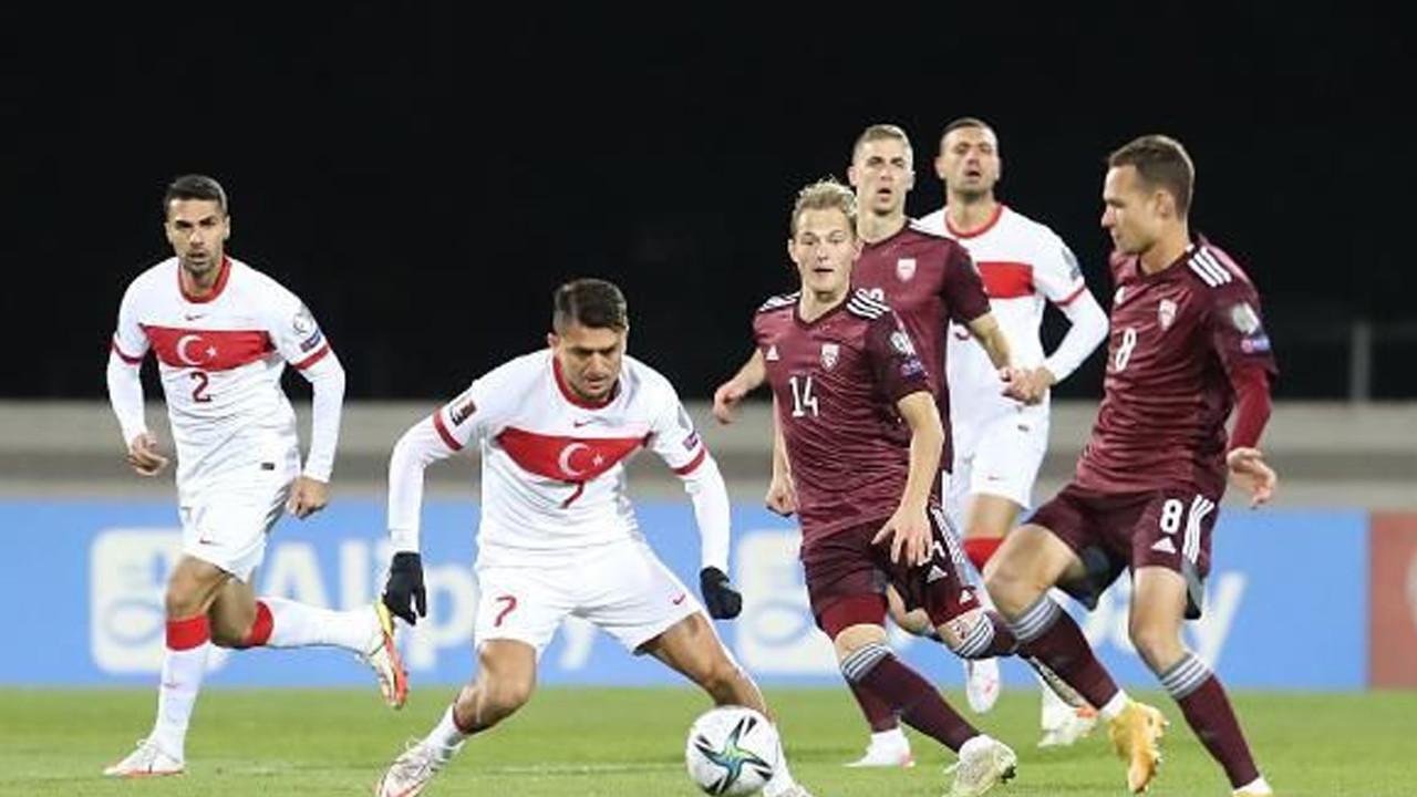 A Milli Takımımız, Letonya'yı son saniyede yıktı