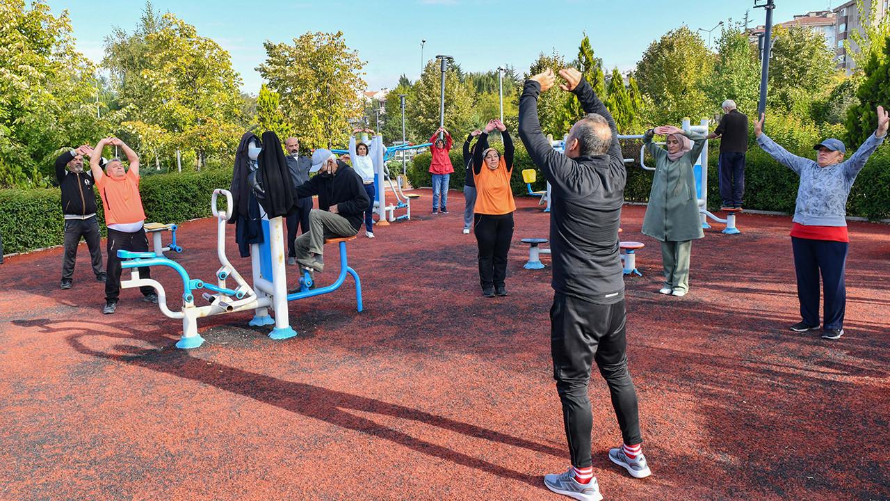 Ankara'da sabah sporuna yoğun ilgi