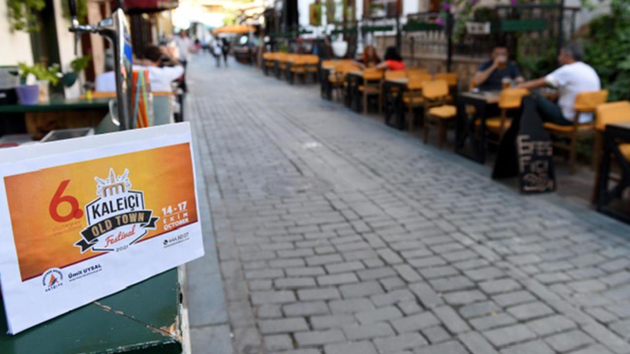 6. Kaleiçi Old Town Festivali başlıyor