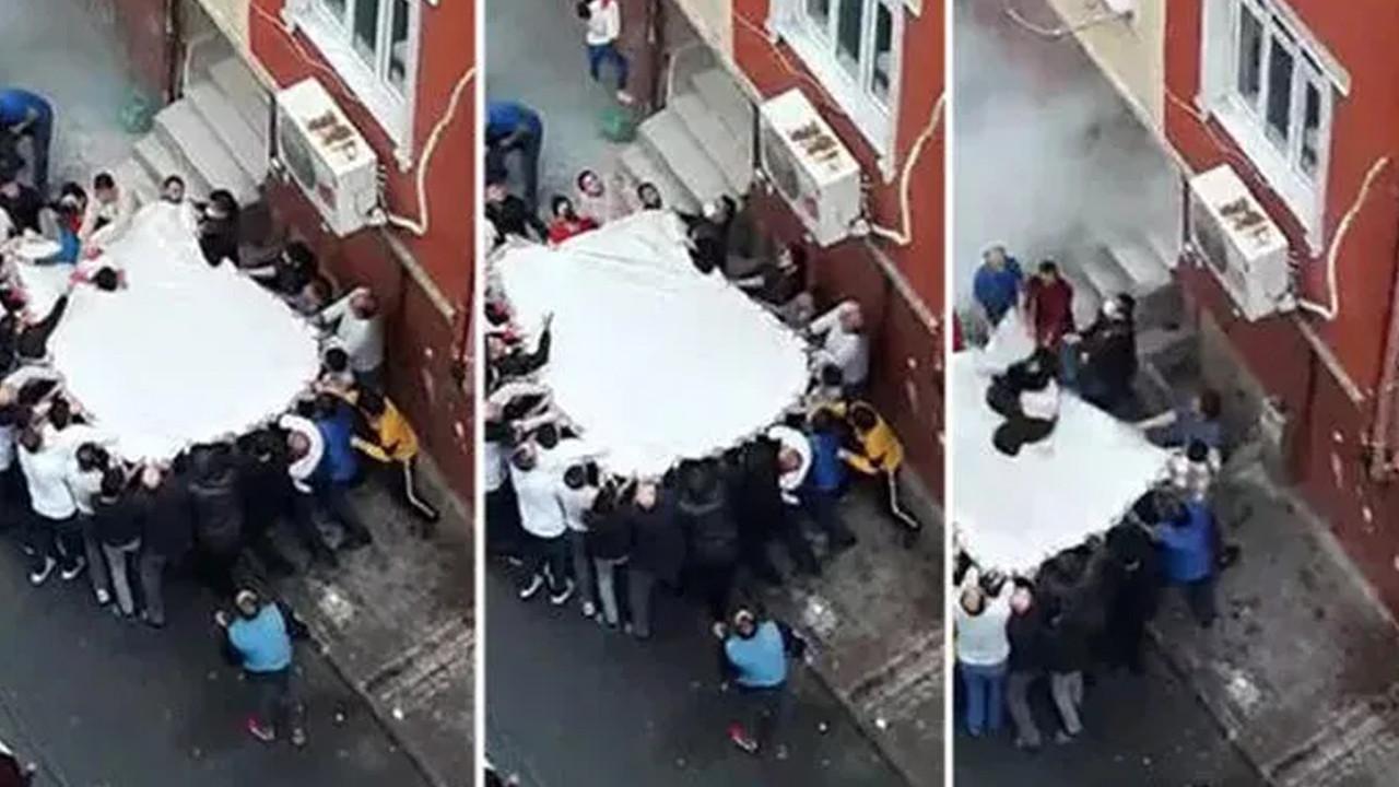 İstanbul'da korku dolu anlar: Anne ve çocukları kurtulmak için...