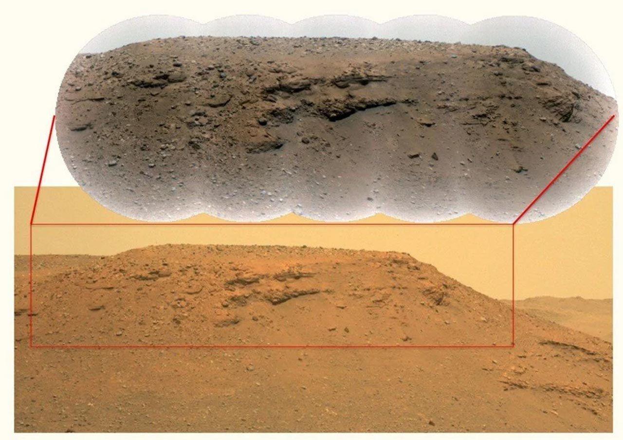 NASA fotoğraflarını paylaştı: Mars'ta tarihi keşif - Resim: 3