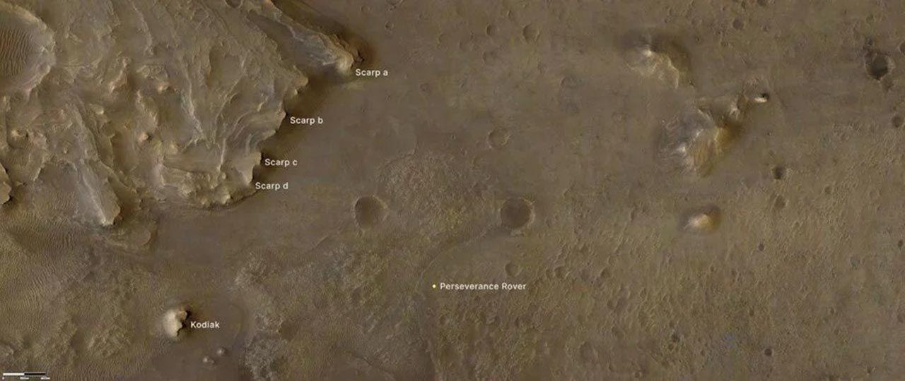 NASA fotoğraflarını paylaştı: Mars'ta tarihi keşif - Resim: 2