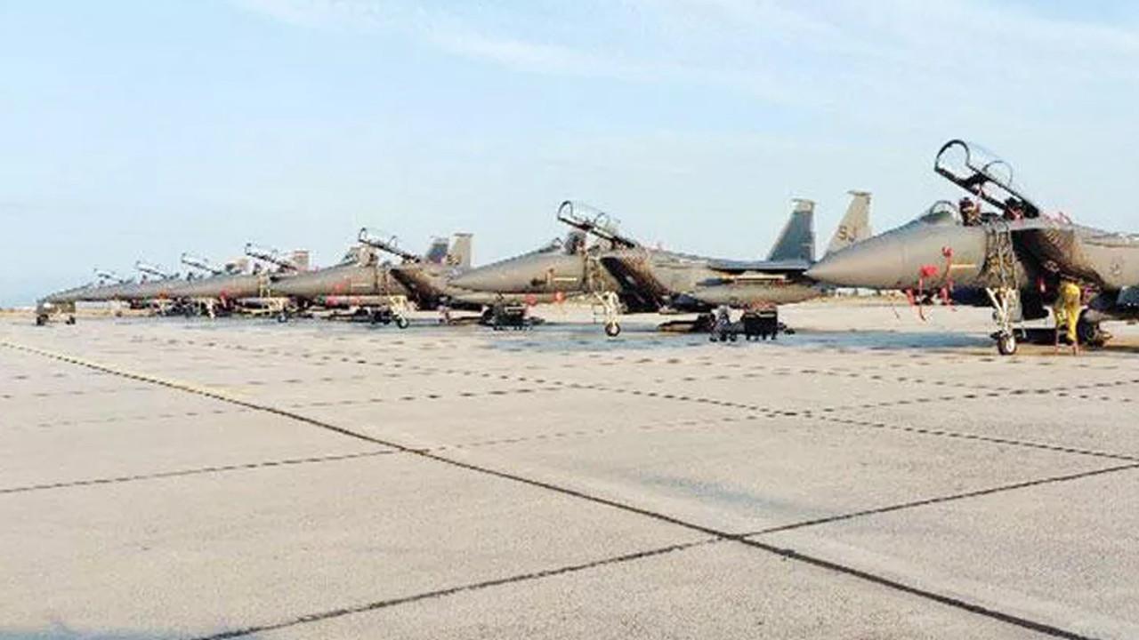 ABD, Yunanistan'a 15 savaş uçağı gönderdi