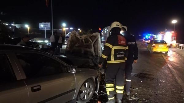 Kırıkkale'de feci kaza: 3'ü ağır 4 yaralı - Resim: 3
