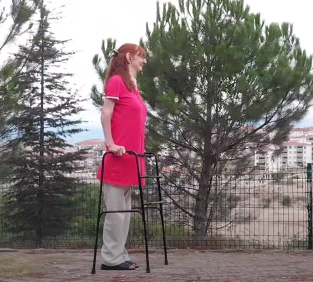 Dünyanın en uzun boylu kadını Rümeysa Gelgi, Guinness Rekorlar Kitabı'na girdi - Resim: 3