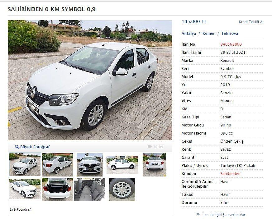 Otomobil yatırım aracına dönüştü: Aylar önce aldıkları sıfır kilometre araçları satıyorlar - Resim: 1