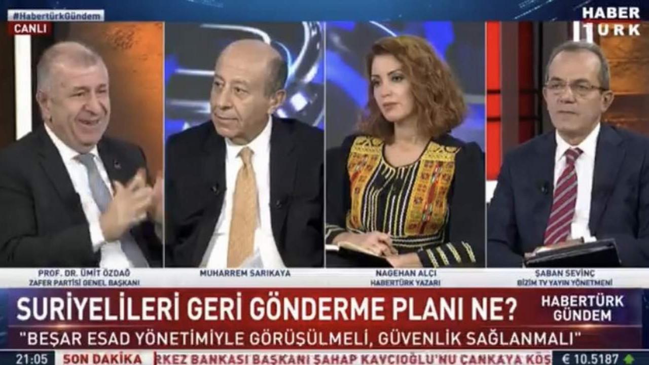 Zafer Partisi lideri Özdağ'dan, Nagehan Alçı'ya çok sert sözler