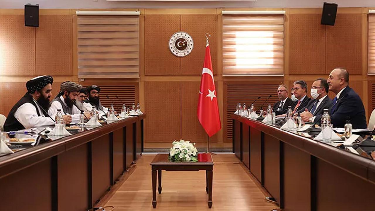 Taliban heyeti Ankara'da! Bakan Çavuşoğlu'ndan ilk açıklama