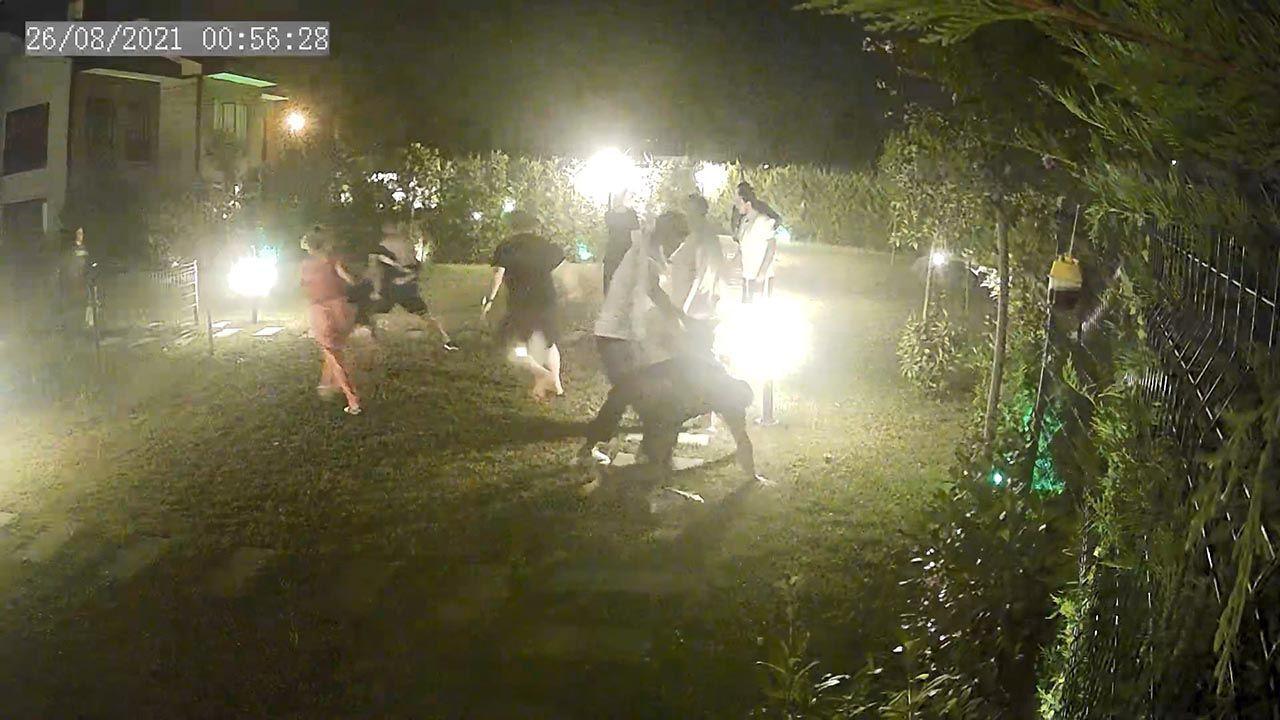 Derya Tuna'nın karakolluk olduğu kavga kamerada - Resim: 4