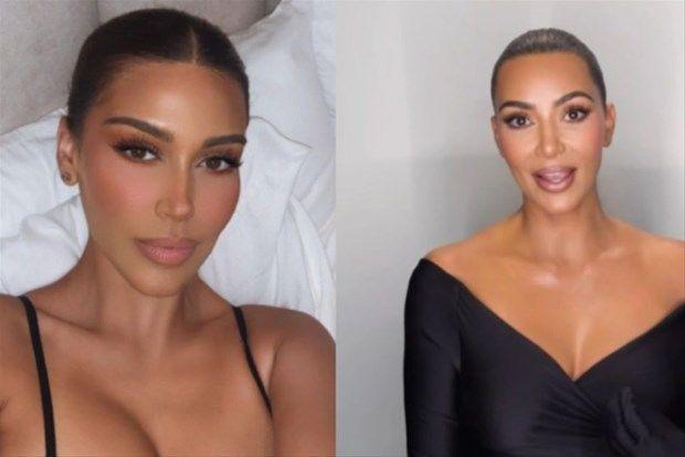 Kim Kardashian'a benzerliği ile dikkat çekiyor: Kendisini klonlamış - Resim: 4