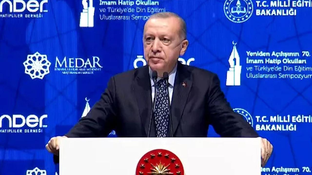 Erdoğan: ''İmam hatiplerin fetret dönemini biz bitirdik''