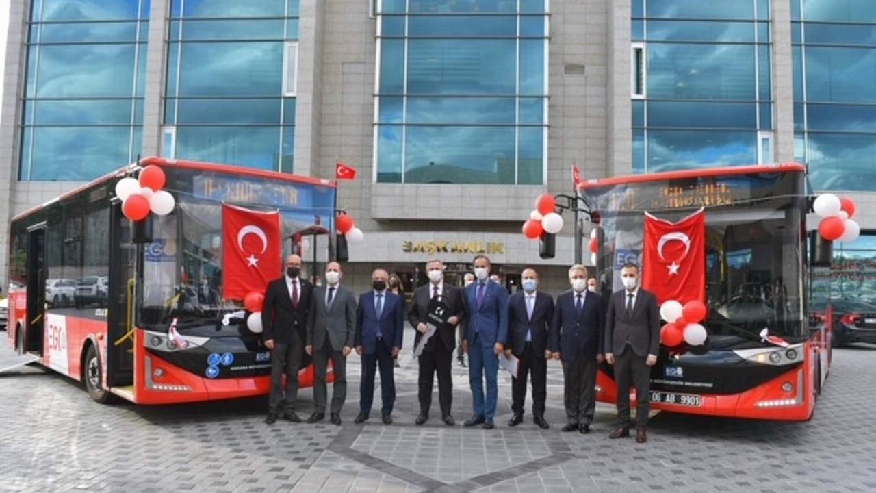 Ankara Büyükşehir Belediyesi 8 yıl sonra filosunu yeniliyor: 51 yeni otobüs Başkent yollarında