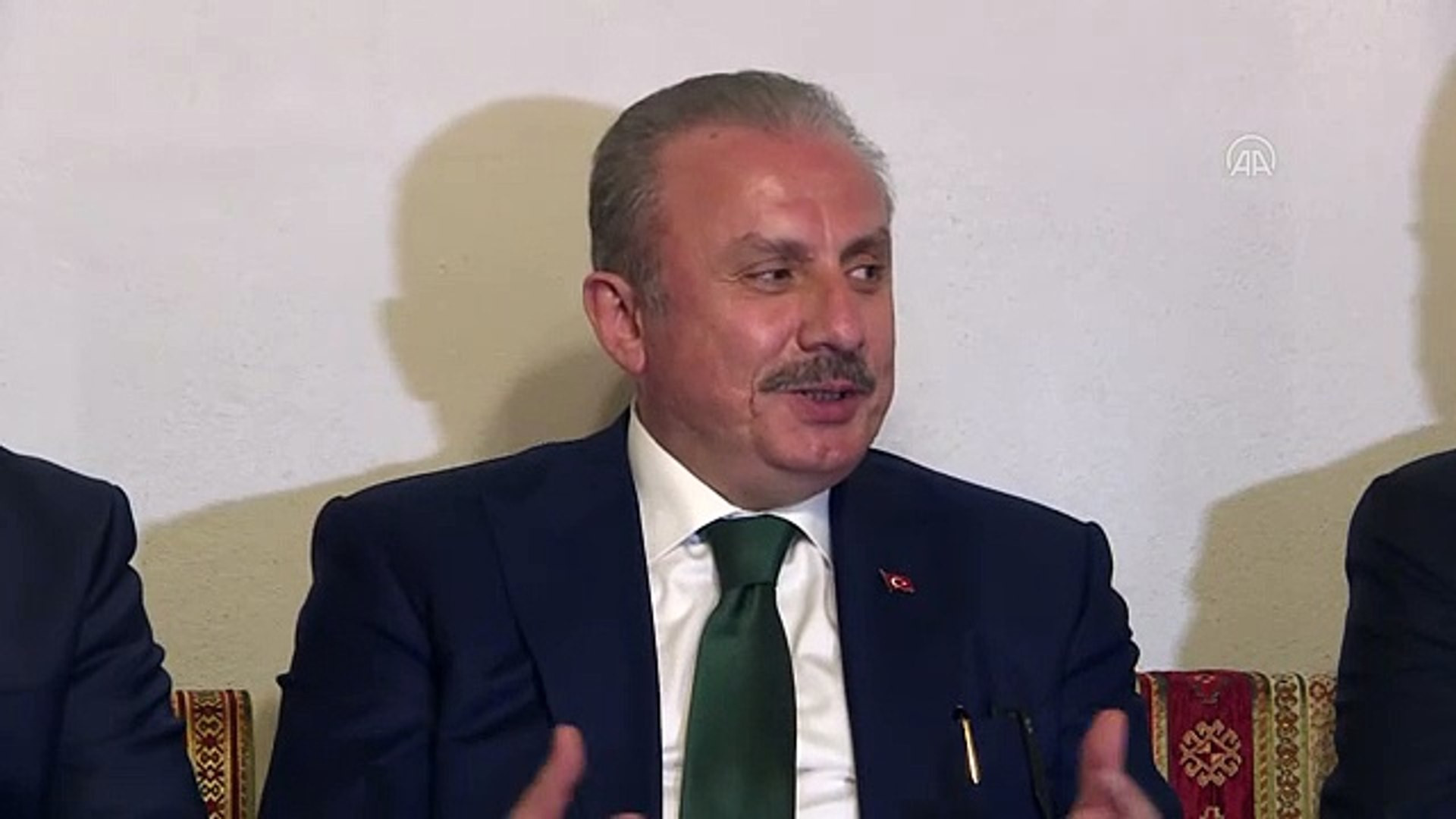TBMM Başkanı Şentop: ''Türkiye'de böyle bir ortama müsaade edilmez''