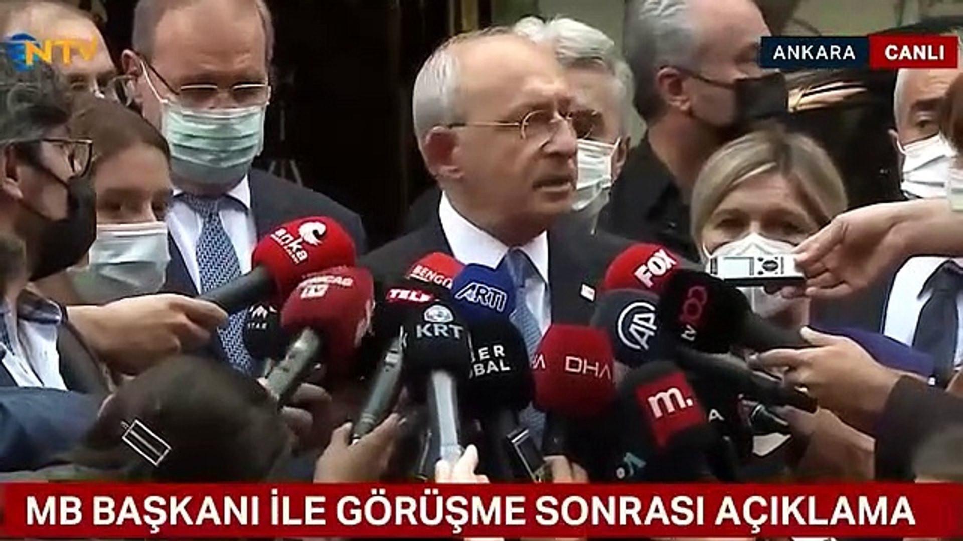 Merkez Bankası Başkanı ile görüşen Kılıçdaroğlu'ndan ilk açıklama