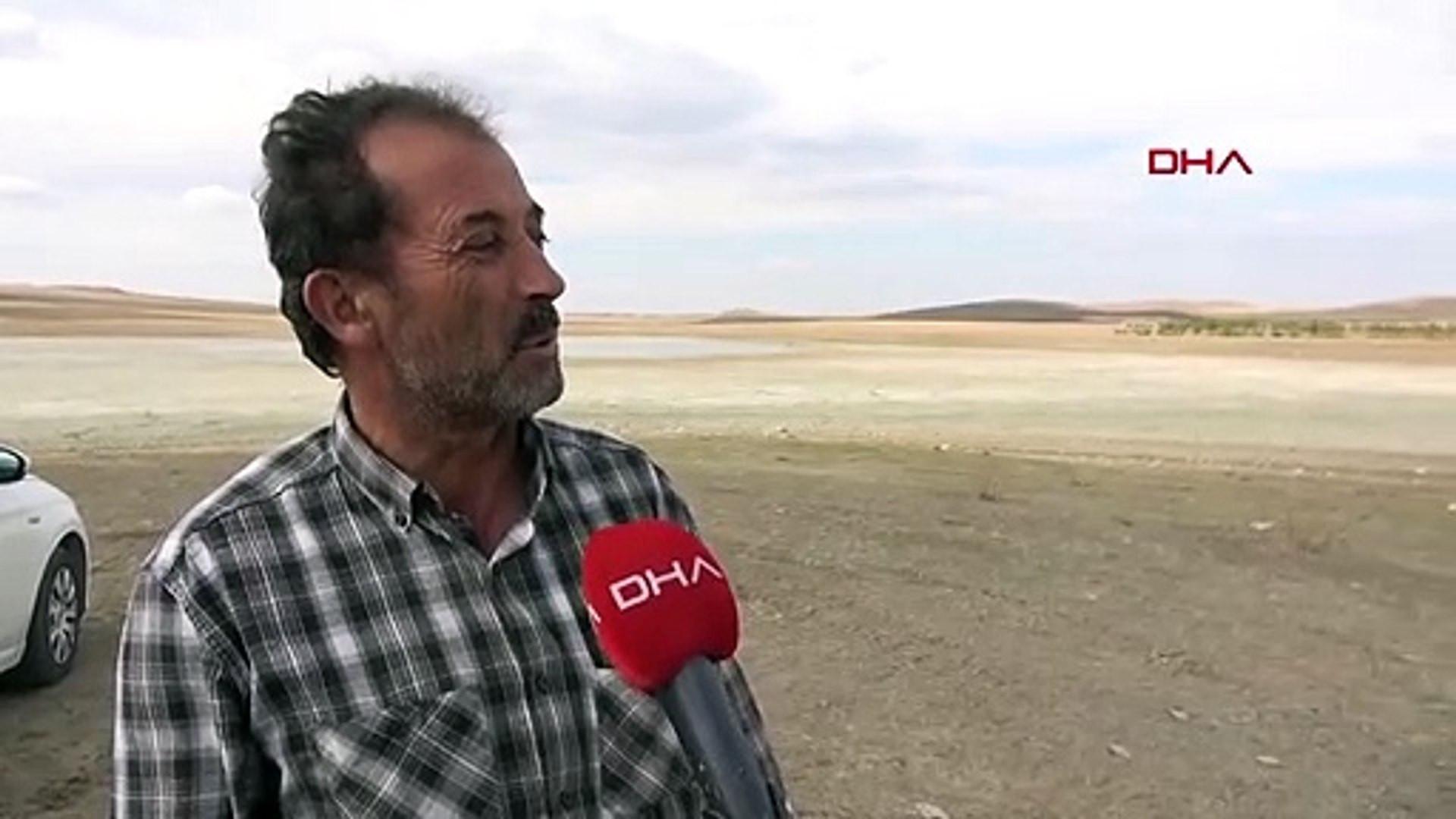 Türkiye'nin Acı Gölü'ydü... Göl gitti acısı kaldı