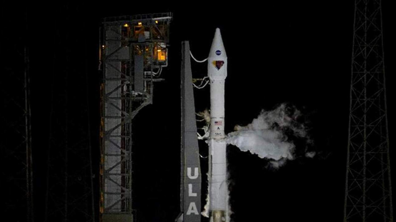 NASA Jüpiter'e uçtu